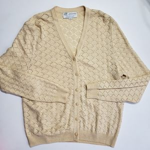 Vintage St John Collection Gold Button Cardigan